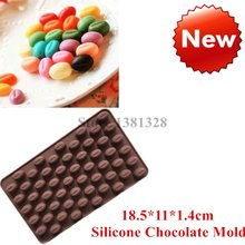 18.5*11*1.4cm Coffee Beans Silicone Mold Candy Chocolate Diy Mould Cake Decorations Kitchen Accessories