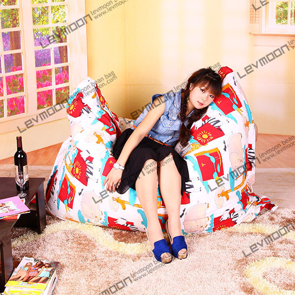 FREE SHIPPING 140*180CM bean bag chairs for sale lazy sofa chair sunflower bean bags online(China (Mainland))