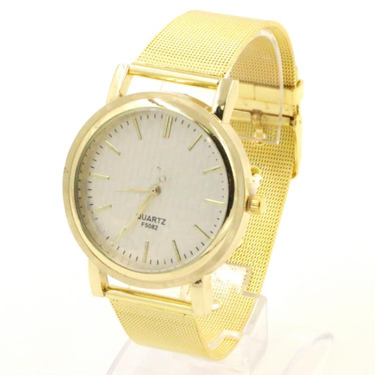 Top Fashion Golden Quartz Watch Women watches luxury brand wristwatch relojes mujer relogio feminino montre femme women's watch(China (Mainland))