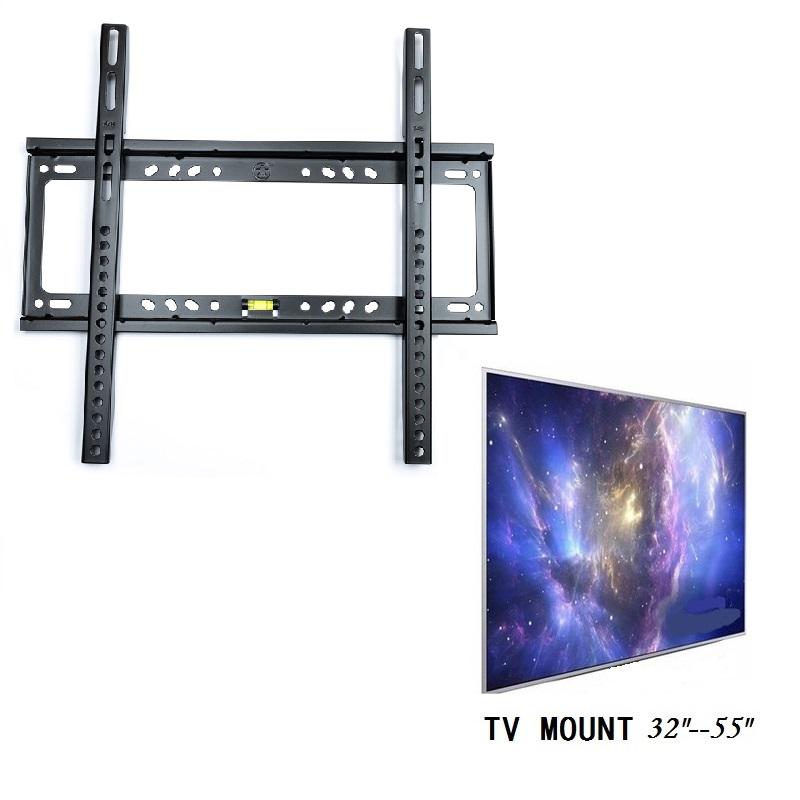TV Wall Mount Flat Screen Bracket Flat Panel Fixed Mount