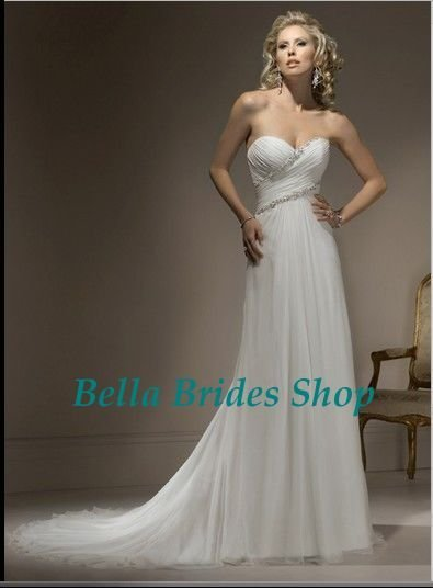 2011 Latest Design Hot Sale Best Price Beaded Wedding Dress Romantic Angel