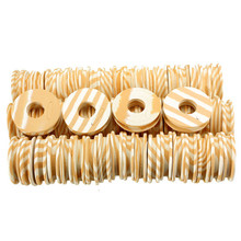 60pcs/lot Outdoor Fishing line Circular Winding plate foam Board Fishing Lure Trace Wire Leader Swivel Tackle