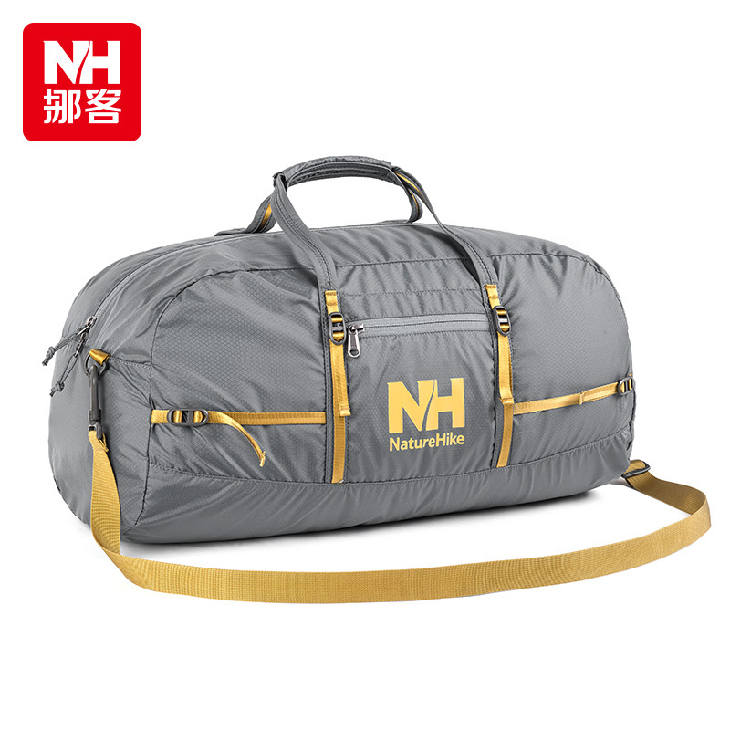 NatureHike-New Nylon Foldable Bags Large Capacity Women And Men Luggage Travel Bags Business and Travel  Waterproof Shoulder Bag(China (Mainland))