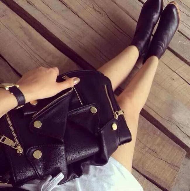 Classic Ladies Shoulder Bag Motorcycle Messenger Bags Casual Brand