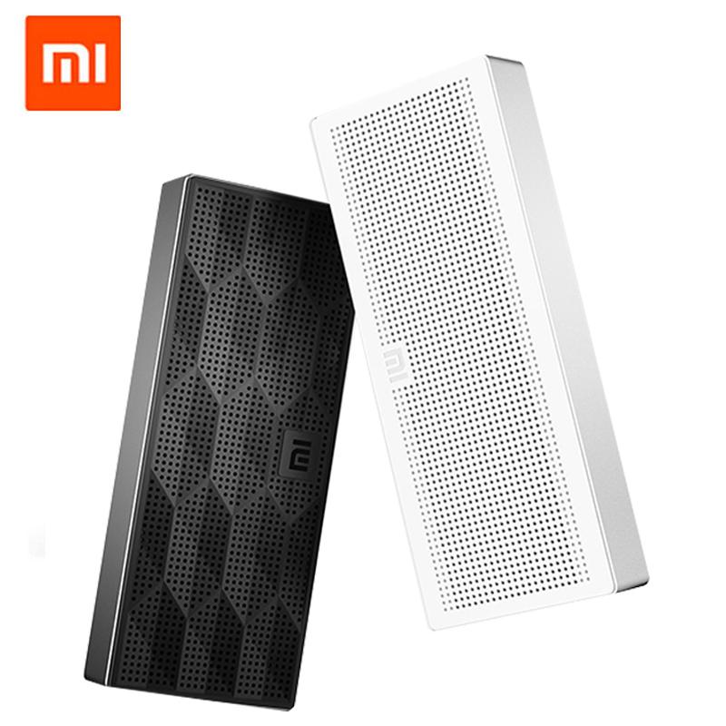 Гаджет  Original Xiaomi Mi Bluetooth Speaker Portable Wireless Mini Square Box 1200mAh Speaker for IPhone and Android Phones None Бытовая электроника