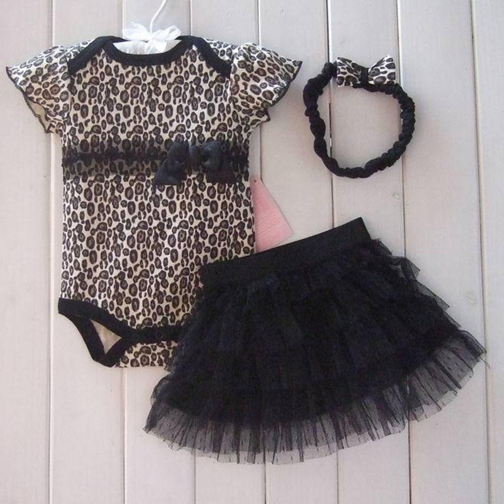 1Set Newborn Infant Baby's Sets Girl Polka Dot Headband+Romper+TUTU Outfit Clothes(China (Mainland))