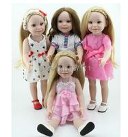 милые куклы Подарки Игрушки для девочек детей Рождество детей хобби моды принцесса brinquedos meninas bonecas