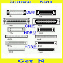 500pcs Custom Internal 50 Pin/68 Pin SCSI Data Cable External 50 Pin/68 Pin SCSI Charger Line(China (Mainland))