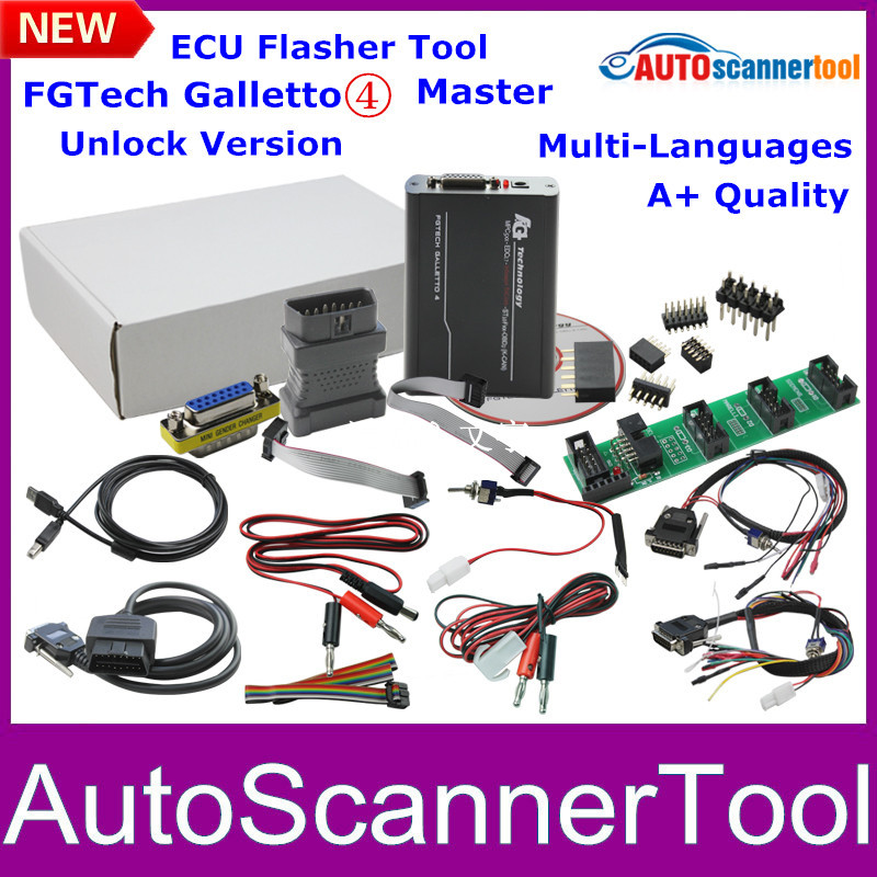 2015 Best A+ Quality Unlcok FgTech V54 Galletto Master FG TECHE V54 ECU Flasher Support BDM Function Multi-Language(China (Mainland))