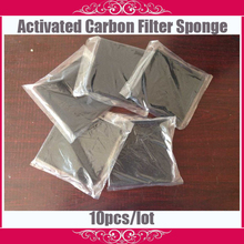 10 pcs high quality Activated Carbon Filter Sponge for Hakko 493 Solder Smoke Absorber ESD Fume Extractor size 13cm*13cm(China (Mainland))
