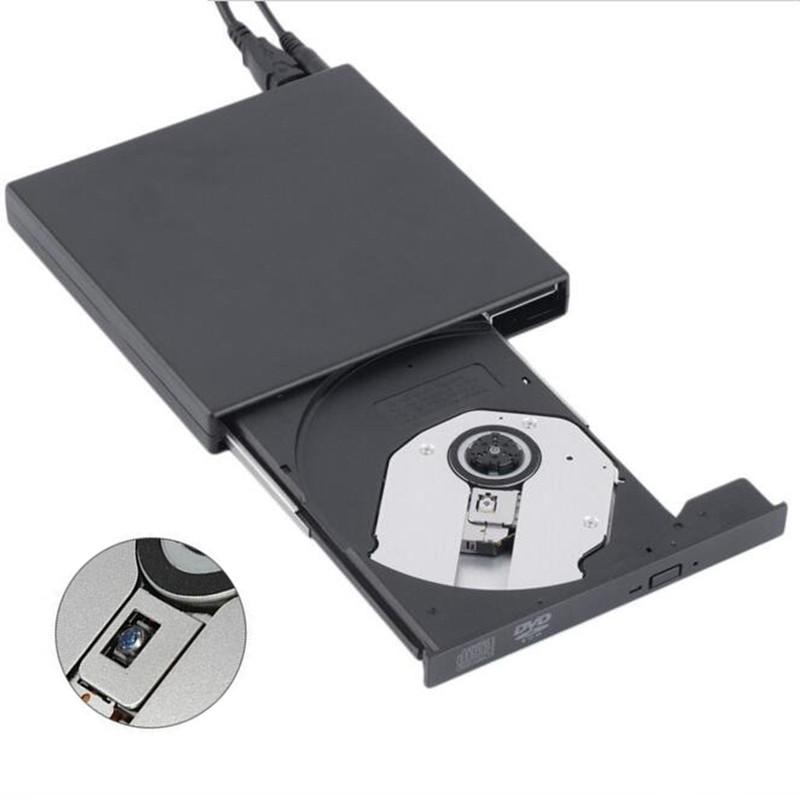 [Ship from Local Warehouse] USB 2.0 External Optical Drive Combo CD RW Burner DVD ROM Portatil Writer Recorder Player for Laptop(China (Mainland))