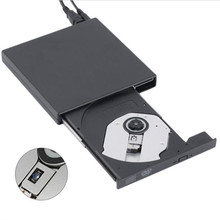 USB 2.0 External Optical DVD Drive Combo CD RW Burner Writer Recorder Portatil DVD ROM Player for Laptop Computer pc Windows 7/8(China (Mainland))