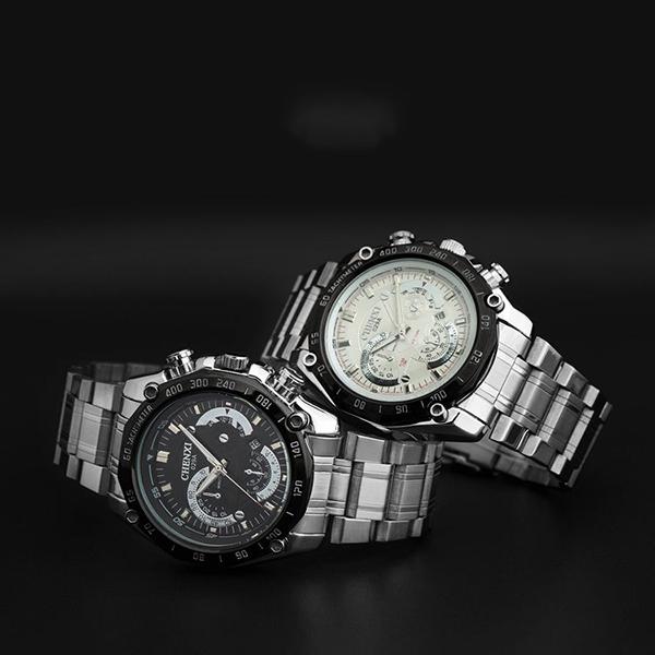 Famous Brand Korean Watches Men Europe Watches relogio masculino Quartz Watch Stainless Steel Wrist Watches for Men(China (Mainland))