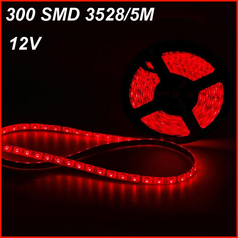 3528 RGB Waterproof LED Strip Flexible Light Lamp 5M 300 Led SMD IR Remote Controller DC12V 2A Power Adapter,Non-waterproof<br><br>Aliexpress