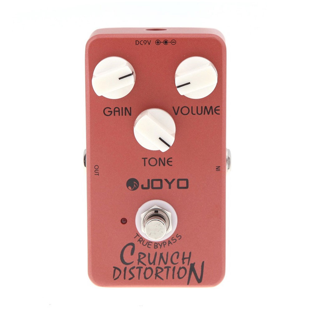 JOYO JF-03 Crunch Distortion Guitar Effect Pedal with Ture Bypass British Classic Rock
