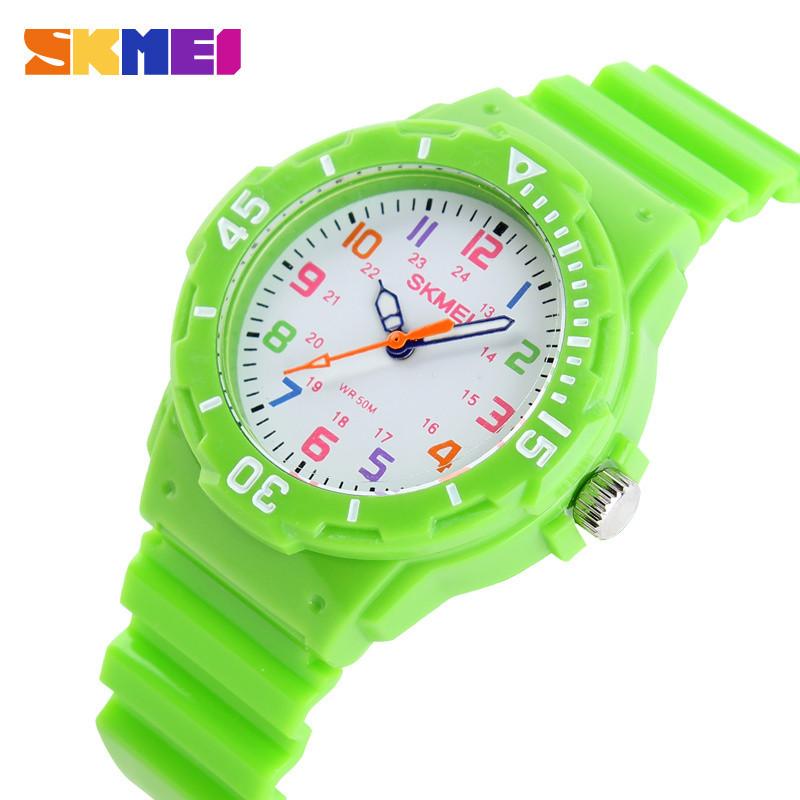 SKMEI Sports Kids Children Watches Cartoon Silicone Quartz Cute Watch For Boy&Girl Sudent Swimming Wristwatch New 2015 Hot Sell(China (Mainland))