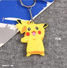 Cartoon anime Pocket Monster Pokemon PIKACHU model toy action figure toy doll key pendant ornament gift