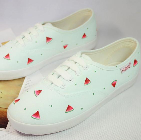 Бесплатная доставка 2014 женская обувь розовый монетный двор цвет белый сладкий арбуз ...