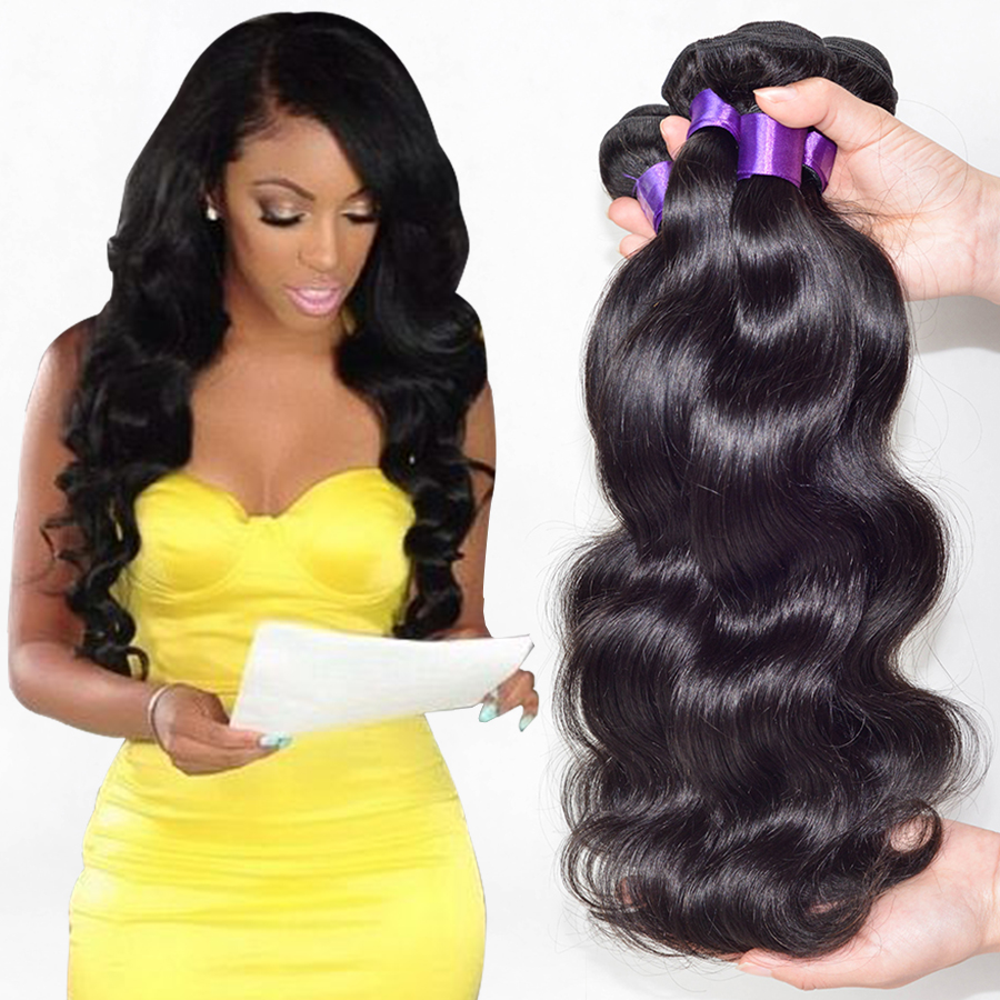 7a Peruvian Virgin Hair Body Wave 3 Bundles Peruvian Body Wave