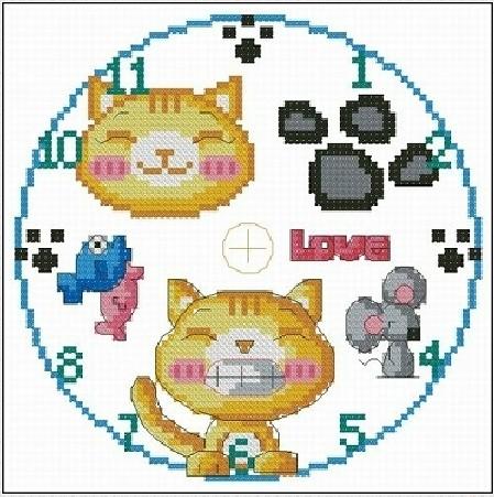 kit chat horloge promotion achetez des kit chat horloge promotionnels sur. Black Bedroom Furniture Sets. Home Design Ideas