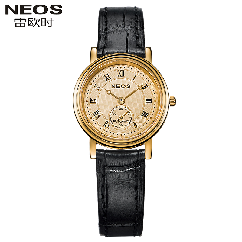 luxury brand NEOS authentic fashion women watch 2016 ultrathin couple watches waterproof woman watch really belt quartz watch(China (Mainland))