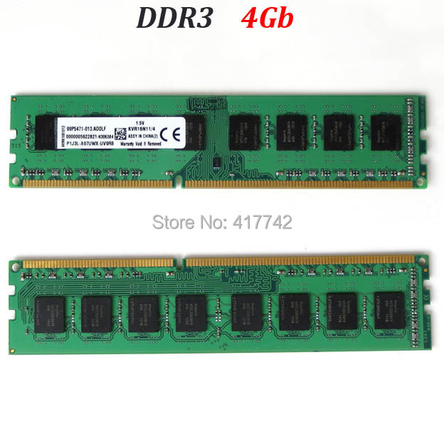 RAM ddr3 4Gb 1333 1600 RAM memoria / desktop DIMM memory ddr3 1333Mhz 1600Mhz 4G - compatible with 1066 - good quality(China (Mainland))