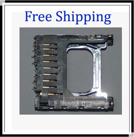 New SD Card Slot Assembly Unit Reader Holder For Nikon D40 D40X D60 D80 D3000(China (Mainland))