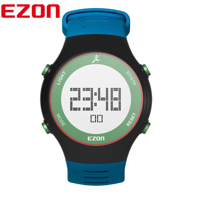 EZON brand watch men watches Outdoor Sports digital watch running watch Wristwatch