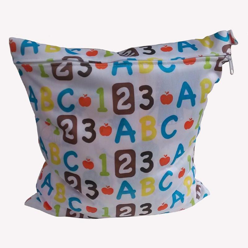 Стирать многоразовые ткань пеленки влажная мешок / водонепроницаемый спорт дорожная сумка / большой размер : 30 X 28 см пеленки мешок детские влажные пеленки мешок