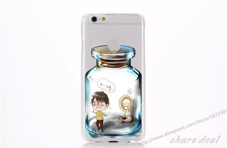For iPhone 5S New Arrive Natsume's Book of Friends Cute Cartoon Bottle Case Hard Plastic Doraemon Case Cover Free Shipping(China (Mainland))