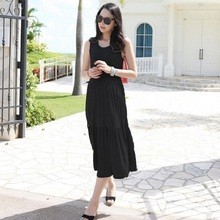 2016 new summer font b maternity b font dresses long knitted dresses pregnant dresses 16080