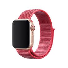 Для Apple Watch серии группа 3/2/1 38 мм 42 мм нейлон мягкие дышащие нейлон для iWatch замена группы спортивная петля series4 40 мм 44 мм(China)