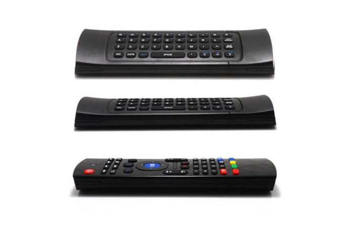 10pcs Free Shipping Hot 2.4Ghz Wireless Mini Keyboard MX3 Keyboard Air Mouse Remote Control Keyboard for PC Android TV Box(China (Mainland))