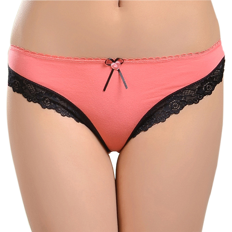 86839 Lace Underwear New Arrival 2016 Sexy Lace Cotton Women Panties(China (Mainland))