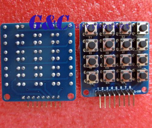 1PCS 4x4 Keypad MCU Accessory Board Matrix Keyboard Buttons(China (Mainland))