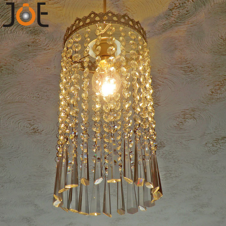 New arrivals Crystal chandelier Icicle Droplets Light fixtures Vintage Antique Style Decor lamp for kitchen bedroom 9142(China (Mainland))