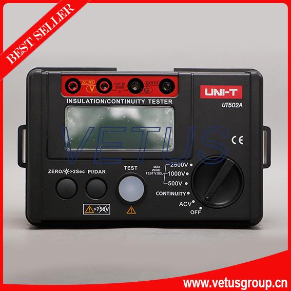 Фотография UT502A 2500V Digital Insulation Resistance Meter Tester Megohmmeter