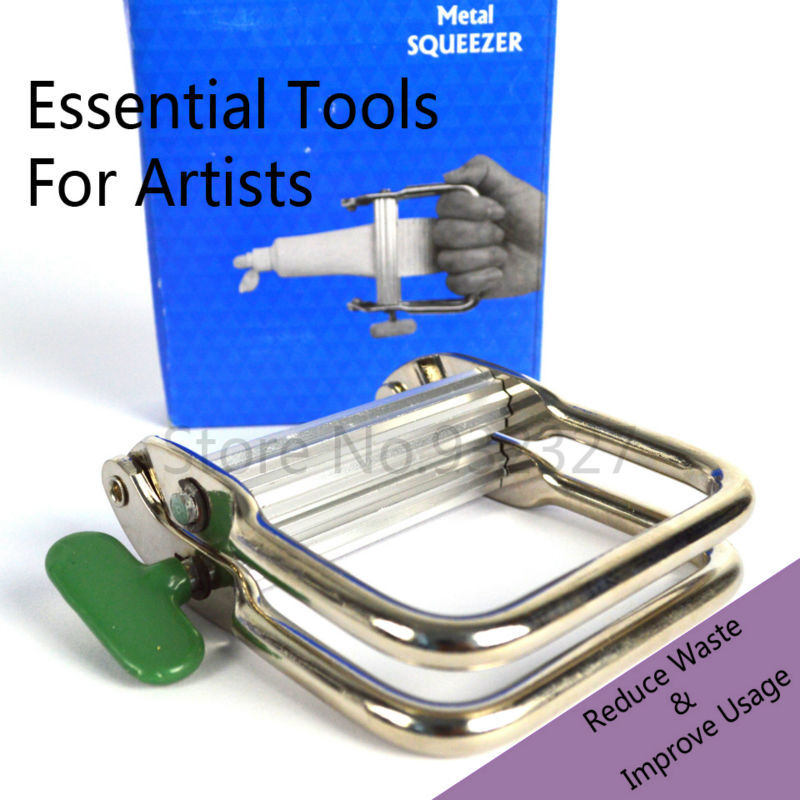 Oil Painting Pigment Extruder  Metal Squeezer   Essential Tools For Artists<br><br>Aliexpress