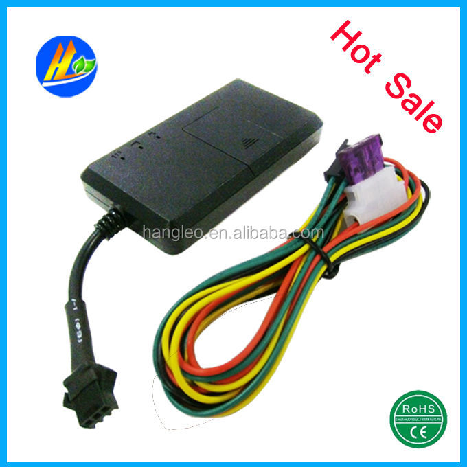Factory price Vehicle Car Motorcycle GPS Tracker, GPS/GSM/GPRS System, GPS Tracking Device without boxes&built in battery &relay(China (Mainland))