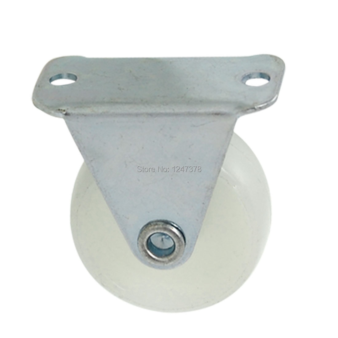 "Equipment 1.2"" Fixed Metal Plate Light Duty PP Caster(China (Mainland))"