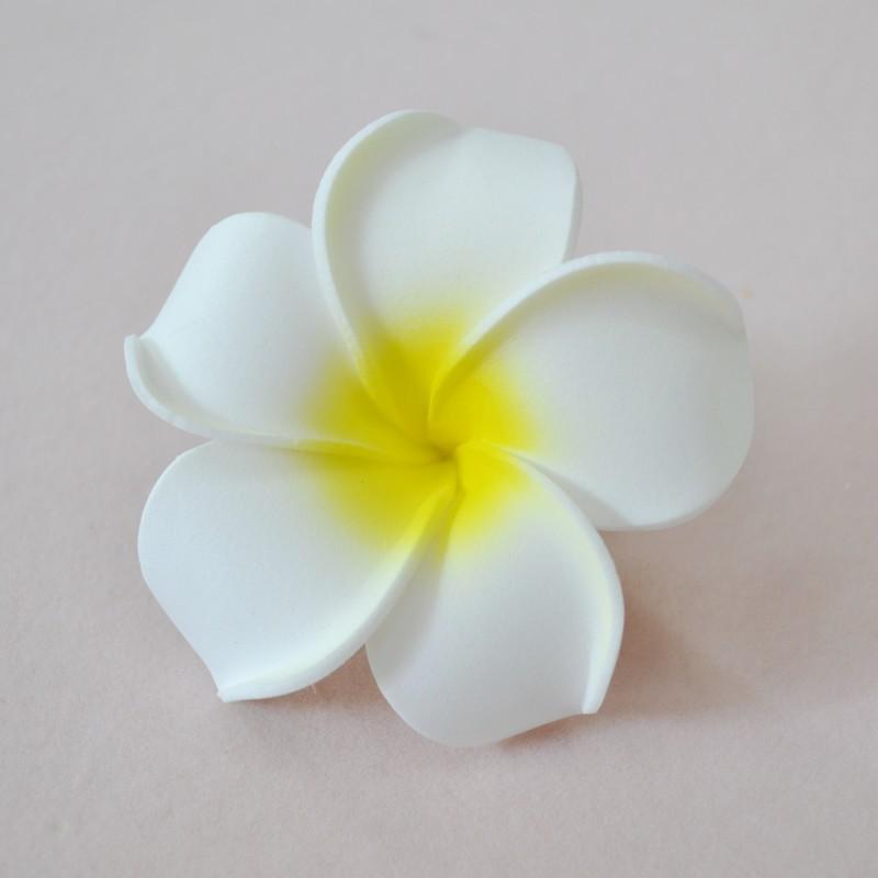 100pcs Factory direct sale 4/5/6/7/9cm 5sizes simulation frangipani Hawaii PE foam flower Artificial flowers Tire DIY materials(China (Mainland))