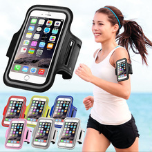 Sport Arm Band Phone Case For iPhone 6 4.7 Inch Gym Holder Waterproof For Samsung Galaxy S3/S4/S5/S6/S6 Edge PU Leather Cover(China (Mainland))