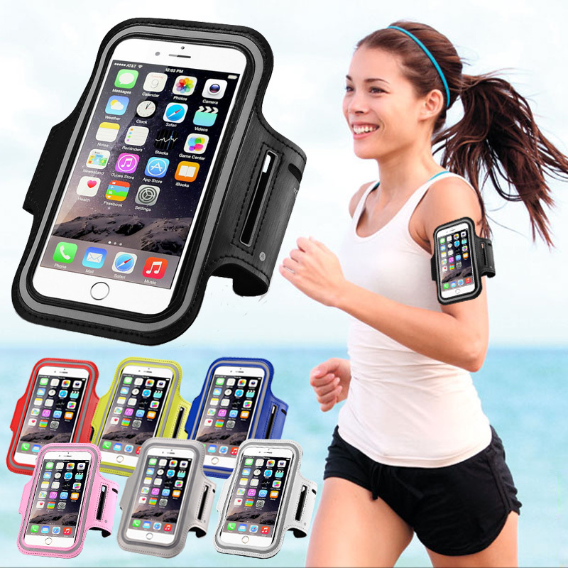 Sport Arm Band Case For iPhone 6 6S 4.7 Gym Waterproof For Samsung Galaxy S3/S4/S5/S6/S6 Edge PU Leather Phone Cover(China (Mainland))
