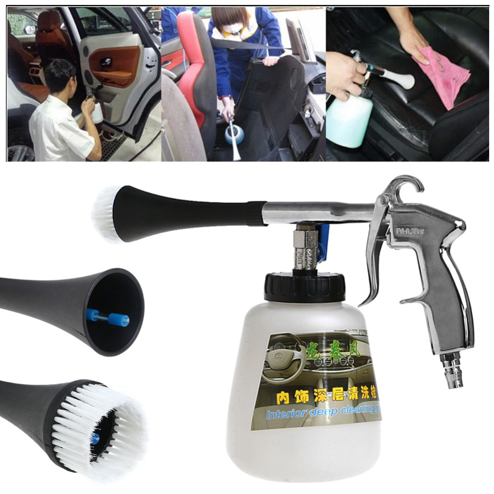 Air Pulse High Pressure Cleaning Foam Gun Tornado Car Auto Care Washer Tool(China (Mainland))