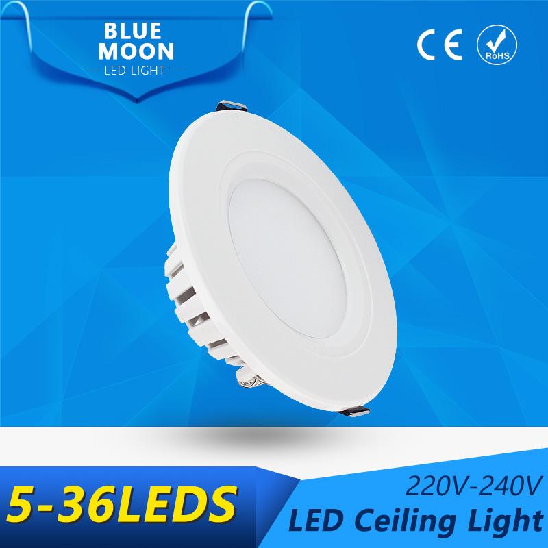 LED Ceiling Light 2W 3W 4W 7W 9W 12W 2835SMD 5730SMD led lamps ceiling lights CE&RoHS AC220-240V Ceiling LED Lights For Home(China (Mainland))