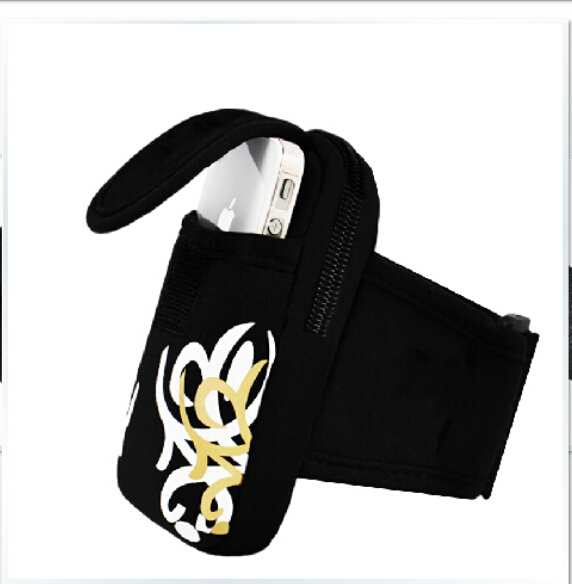 For iphone 3G/3GS,Flower Outdoor Sports GYM Jogging Pouch Bag Case for Mobiles Phones Holder Cover(China (Mainland))