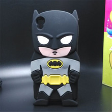 Buy Cute 3D Hero Batman Soft Silicon Cover Phone Cases Sony Xperia M4 Aqua Rubber Back for $3.63 in AliExpress store