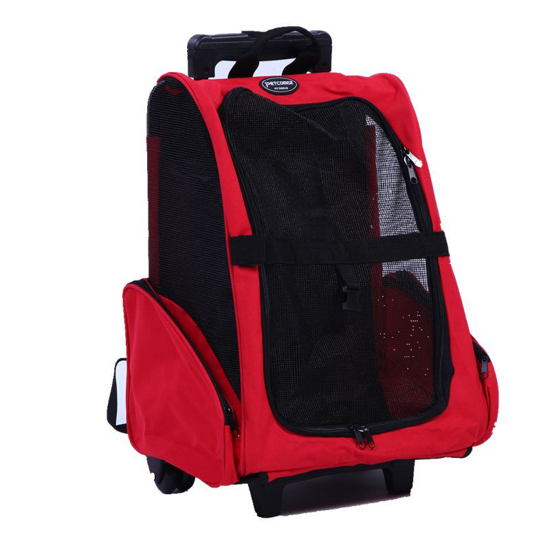 Manufacturers wholesale pet out of Oxford-cloth shoulder pet carriers and retractable pet trolley case(China (Mainland))