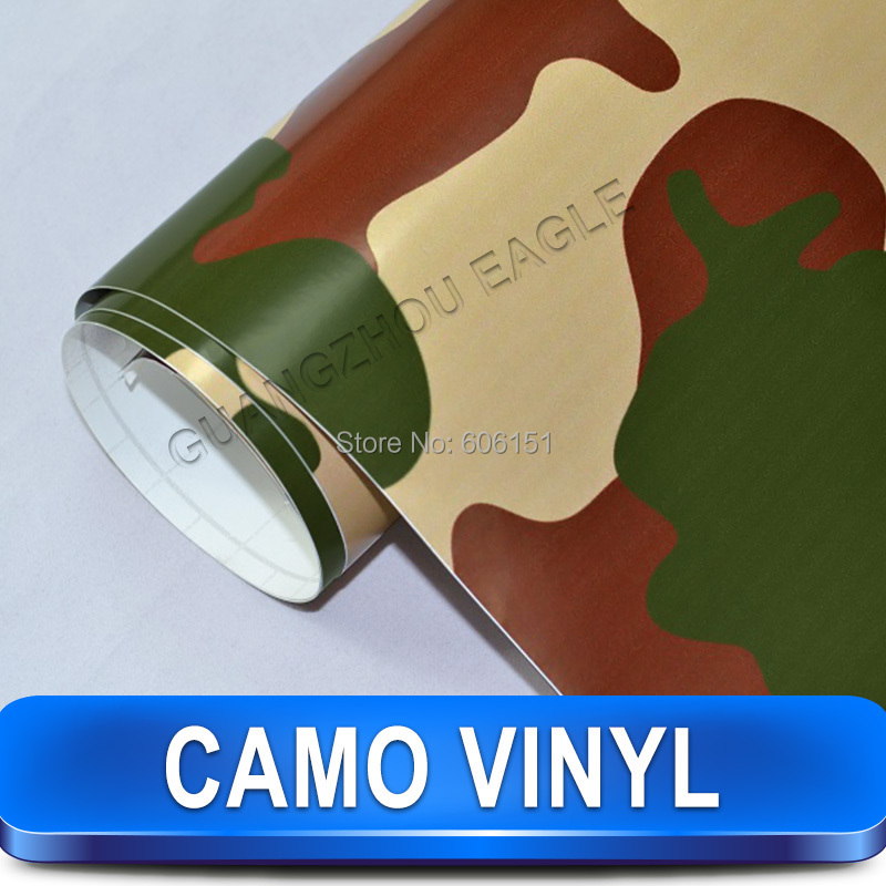 Forest Style camo camouflage car vinyl wrap print film sticker with air free bubbles / drop shipping(China (Mainland))