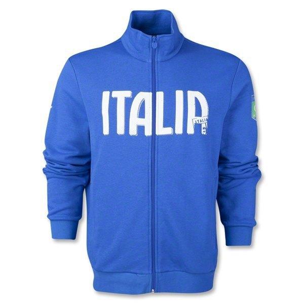 2014 2015 World Cup Italy Track Top Blue Men Soccer Jackets Fashion Men Winter JacketsCheap Men